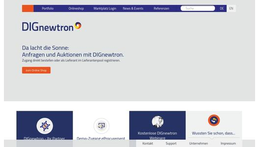 Homepage DIGnewtron