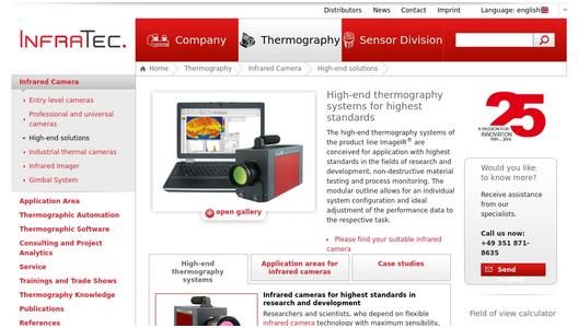 High-end thermography systems ImageIRd®