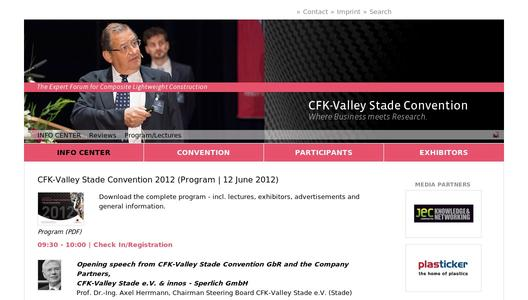 Program Release - 6th CFK-Valley Stade Convention