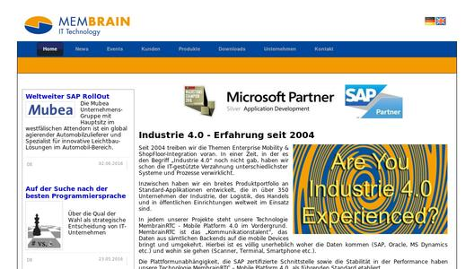 Automated inventory management with SAP, Membrain GmbH