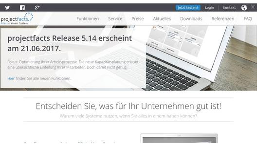 projectfacts - Alles in einem System