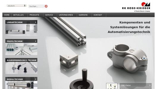 lineartechnik rk rose krieger gmbh pressemitteilung. Black Bedroom Furniture Sets. Home Design Ideas