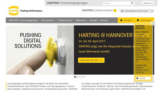 "Weitere Infos zu ""HARTING presents innovative solutions at ""Embedded World"""""