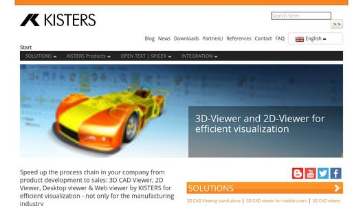 "Weitere Infos zu ""Kisters enhances 3DViewStation with advanced 3D CAD model analysis functions"""