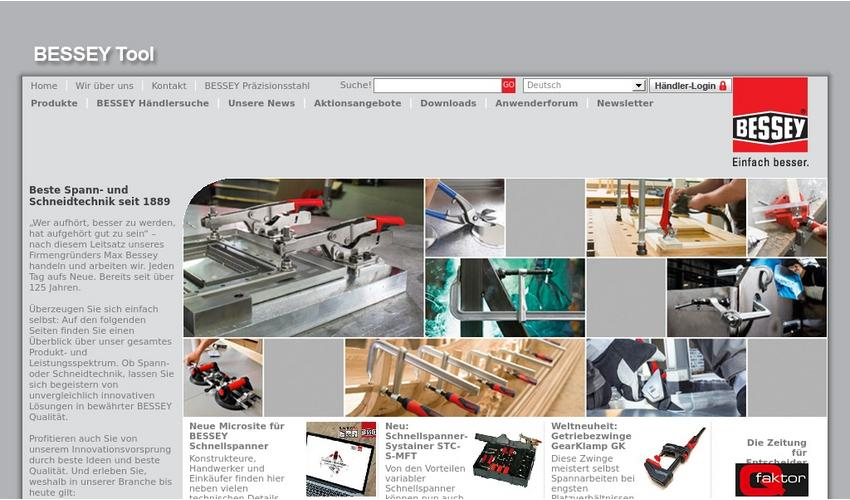BESSEY Website