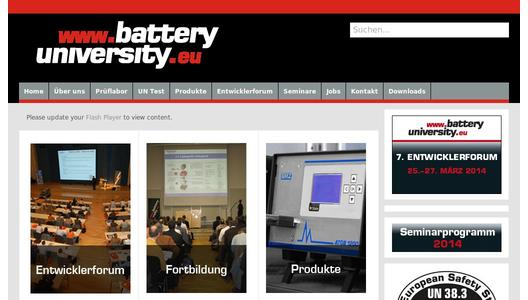 "Weitere Infos zu ""7th batteryuniversity.eu rechargeable battery developer forum informs for three days about the newest trends in the sector"""