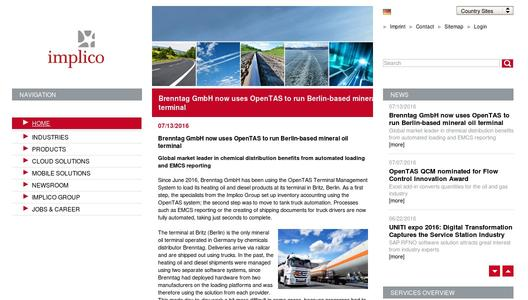 "Weitere Infos zu ""Brenntag GmbH now uses OpenTAS to run Berlin-based mineral oil terminal"""