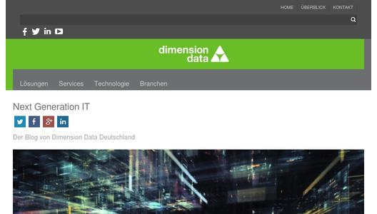 Blog Dimension Data