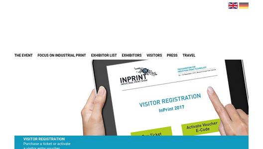InPrint 2017 features strong Conference and Supporting
