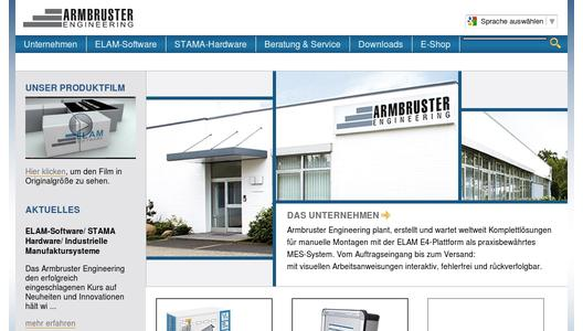 Armbruster Engineering Website