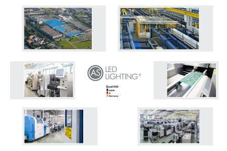 Erweiterte LED-Leuchten-Produktionsstätte im Greater Munich