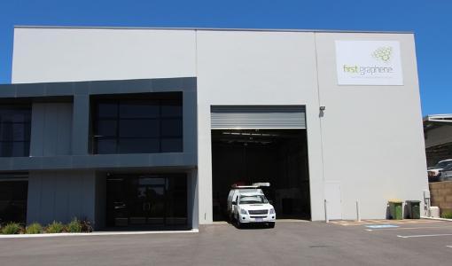 Graphenproduktionsstätte in Henderson; Foto: First Graphene