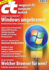 Titelbild der aktuellen c't-Ausgabe 22/2010