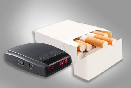 kleiner als eine Zigarettenschachtel