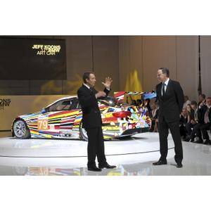 TEFAF to exhibit BMW Art Car of Jeff Koons