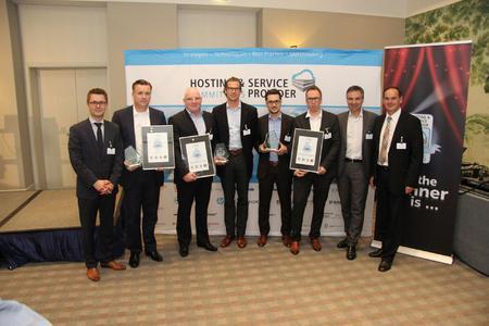 Die Gewinner des HOSTING & SERVICE PROVIDER AWARD 2015 – wer wird 2016 gewinnen? (Foto: Vogel IT-Akademie)