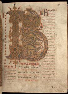 Dieser lateinischer Psalter aus der Zeit um 870 oder 880 zählt zu den ältesten Schriftzeugnissen der Sammlung (Foto: Donau-Universität Krems)