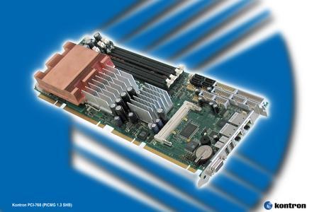 PICMG 1.3 Slot SBC PCI 760 SHB