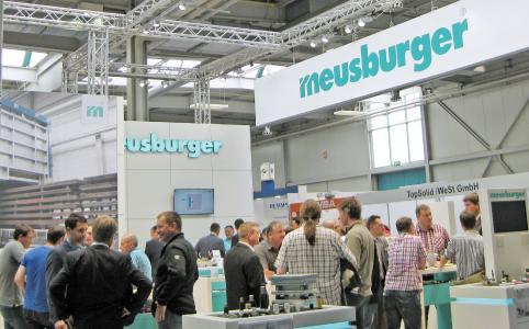 Der Messestand der Meusburger Gruppe ist immer einen Besuch wert / Foto (Meusburger)