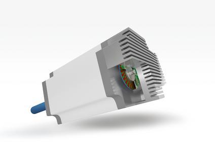 Antriebstechnik, Applikationsbeispiel: Die neue Absolut-Encoder-Disk in Permagnet®-Nonius-Technologie  lässt sich einfach in Motoren integrieren