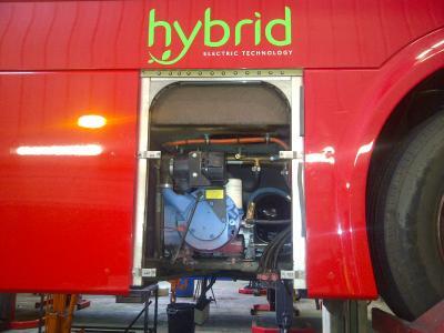T02 unit in diesel-electric hybrid bus / Images: Gardner Denver Transport Solutions, Senden, Germany