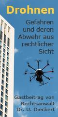 Drohnen - Gefahren und deren Abwehr aus rechtlicher Sicht