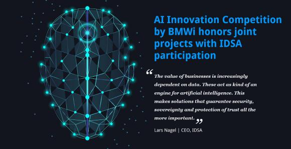 AI Innovation Competition by BMWi honors joint projects with IDSA participation