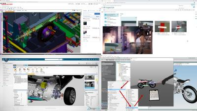 Next generation and advanced visualization for PLM systems