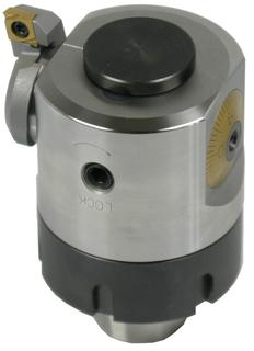 For diameters of 88 mm and higher, the Swiss-made Vario Head can also be used for reverse machining.