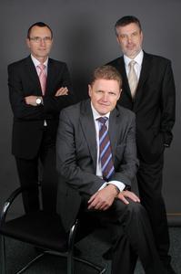 Vorstand der Jetter AG: Günter Eckert, Finanzvorstand, Martin Jetter, Vorstandsvorsitzender, Andreas Kraut, Vorstand Technologie und Vertrieb (v.l.n.r.) / Bildquelle: Jetter AG