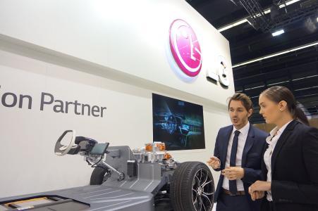 Bild LG Frankfurt Motor Show