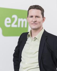 Sandy Pfund, CFO der Energy2market GmbH, spricht am 5. April 2017 über das Potential vom Virtuellen Kraftwerk für  E-Mobility.