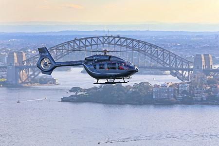 H145 Sydney Harbour,  © Copyright:  Airbus Group Australia Pacific, Paul Sadler