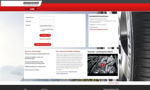 Bridgestone veröffentlicht eine vollkommen neue und erweiterte Version der europaweiten Händlerplattform TyreLink