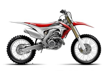 Ab Spätsommer 2012 lieferbar: die neue Honda CRF450R