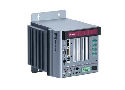 Axiomtek's IPC934-230-FL Fanless Embedded System supports wide temperature range, 4th generation Intel® Core™ i7/i5/i3 and Celeron® processors, DVI-I, 2 USB 3.0, 4 COM ports, dual LANs and 4 PCI/PCIe slots