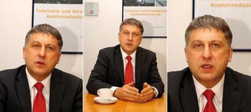 Im Interview mit Telematik-Markt: Kurt Denk von der Cybit