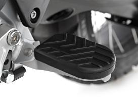 Wunderlich footrest pad for the BMW R 1250 GS Adventure and R 1200 GS Adventure (Item-No.: 25914-002)