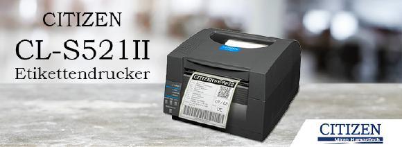 Citizen CL-S521II - Thermo-Etikettendrucker