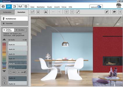 SPECTRUM 5 _ PHOTOstudio: kreativ und individuell. Foto: Caparol Farben Lacke Bautenschutz