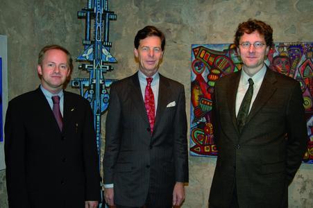 Von Links nach Rechts: Dipl.-Ing. Jan Laubach, Rechtsanwalt und Notar Dr. jur. Jörg-Rainer Hens, PD Dr. med. Dr. med. dent. Eduard Keese