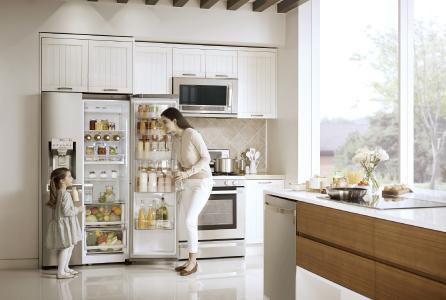Side By Side Kühlschrank Door In Door : Lg erneuert sein side by side kühlgeräteangebot mit