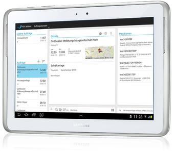 PDS ermöglicht mit mobiler Service-App effizienten Kundendienst auf der Baustelle  (Bildrechte: Samsung Electronics GmbH, PDS)