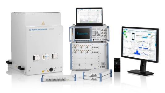 Rohde & Schwarz offers a comprehensive mobile device testing portfolio. (Image: Rohde & Schwarz)