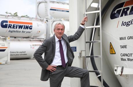 Klaus Beckonert, Geschäftsführer der GREIWING logistics for you GmbH, kommt mit deutlichen Wachstumszielen zur transport logistic nach München.