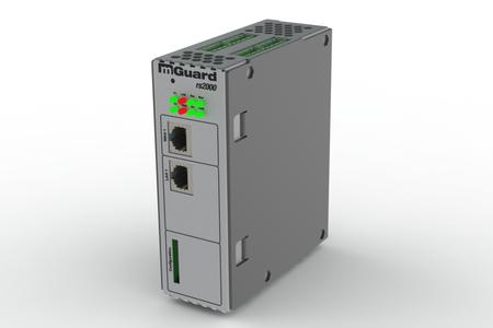 Sample mGuard rs2000 TX/TX device from Innominate's new mGuard Field Line portfolio