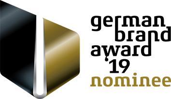 Nominiert für den German Brand Award '19: AURA LIGHT
