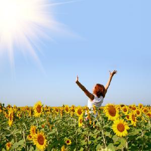Sonne mit Energie