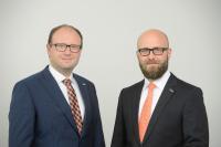 Henning und Thilo Könicke, Geschäftsführer des privaten Messeveranstalters AFAG Messen und Ausstellungen GmbH