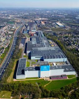 Das Bochumer Werk ist eines der größten Produktionsstandorte der Stahlsparte von thyssenkrupp. Hier sind etwa 2.000 Mitarbeiter beschäftig, davon rund 150 Auszubildende / Foto: thyssenkrupp Steel Europe AG